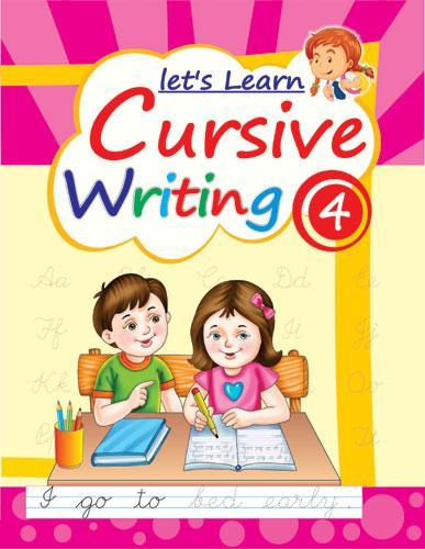 LETS LEARN CURSIVE WRITING PART 4 - Indian Book Depot (Map House)