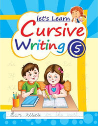 LETS LEARN CURSIVE WRITING PART 5 - Indian Book Depot (Map House)