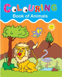 Colouring Book of Animals & Birds - Indian Book Depot (Map House)