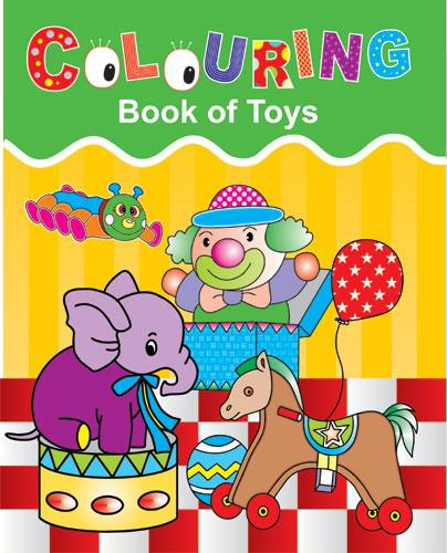 Colouring Book of Toys - Indian Book Depot (Map House)