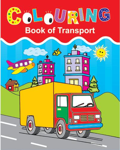 Colouring Book of Transport - Indian Book Depot (Map House)