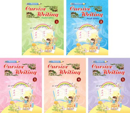 SET OF AMAIRA CURSIVE WRITING BOOK