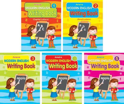 SET OF AMAIRA MODERN ENGLISH WRITING BOOK