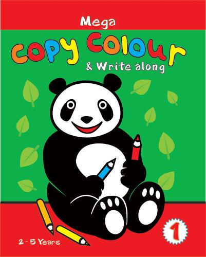 Mega Book of Copy Colour & Write along -1