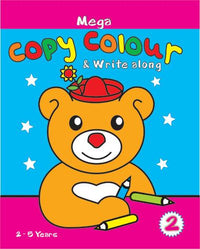 Mega Book of Copy Colour & Write along -2 - Indian Book Depot (Map House)