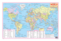 LATEST POLITICAL MAP OF WORLD