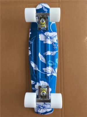 22 Inches Long Skate Board Gorgeous Pattern Skateboard Long Board Penny Board Patins Single Rocker Loadbearing Wheel