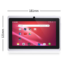 Load image into Gallery viewer, 7 Inch Kids Tablet Android Quad Core Dual Camera WiFi Education Game Gift for Boys Girls