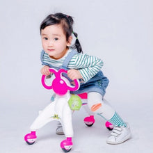 Load image into Gallery viewer, Children Four wheel Balance Bike kids toddle Scooter Baby Walker Tricycle Bike Ride Toy Gift kids 1-3 years learn to walk helper