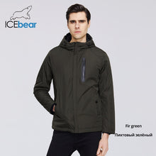 Load image into Gallery viewer, ICEbear 2020 Mens Spring Jacket Mens Hooded Jacket Men Zipper Clothing Casual Men Clothing MWC20806I