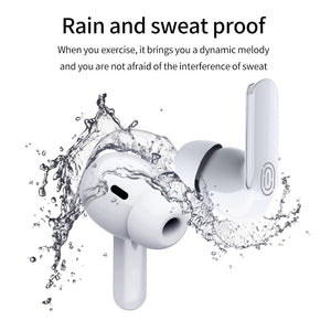 Airpodding pro 3 Tws bluetooth 5.0 earphone wireless in-ear Headset 3D stereo mini Earbuds With Mic sports headphones for Phone