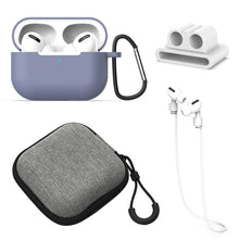 Load image into Gallery viewer, 5 Pcs/Set Silicone Case For Airpods Pro Case Wireless Bluetooth for apple airpods pro Case Cover Earphone Case For Air Pods pro
