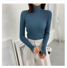 Load image into Gallery viewer, Women Sweaters 2020 Autumn Winter Tops Korean Slim Women Pullover Knitted Sweater Jumper Soft Warm Pull Femme