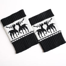 Load image into Gallery viewer, Women Christmas Winter Leg Warmers Crochet Boot Knit Socks Toppers Cuffs Popular