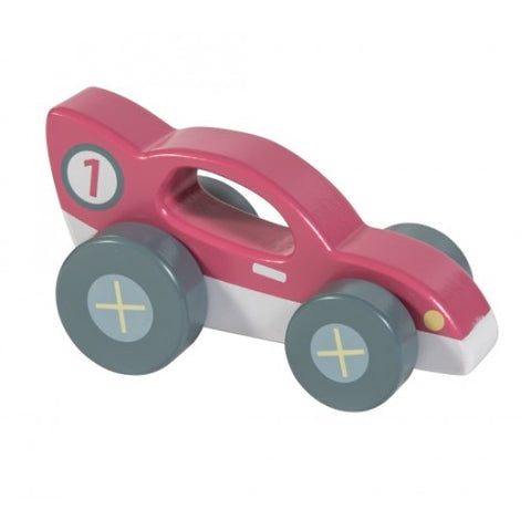 Sebra - Wooden Racer Car, Red - vivalatoys.com