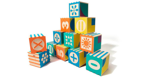 Uncle Goose - Groovie Math & Patterning Blocks