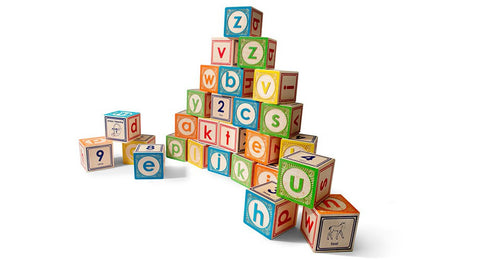 Uncle Goose - Lowercase ABC Blocks