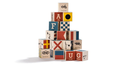Uncle Goose - Nautical ABC Blocks