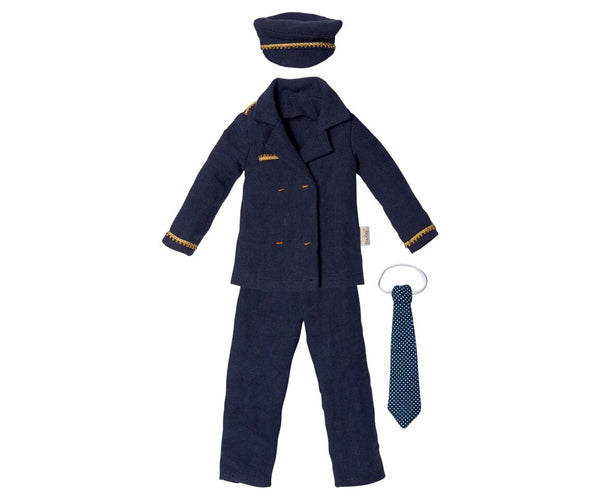 Maileg - The Gingers, Ginger Dad, Pilot Suit, Size 1