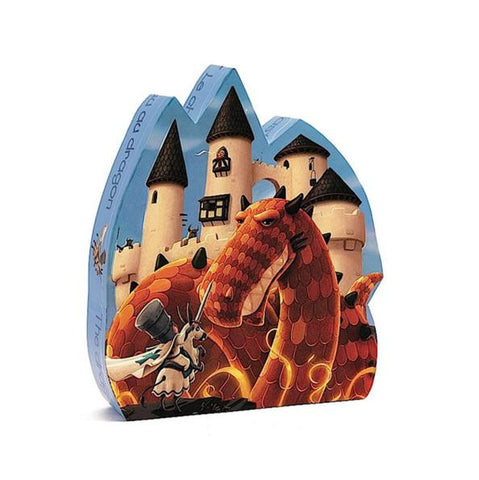 Djeco Silhouette Puzzle - The Dragon's Castle - vivalatoys.com