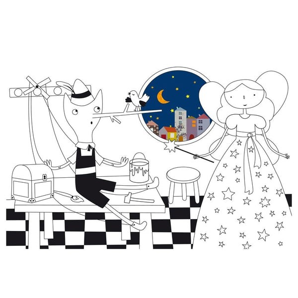 Mon Petit Art - Enchanting Colouring Book, 12 Tales - vivalatoys.com