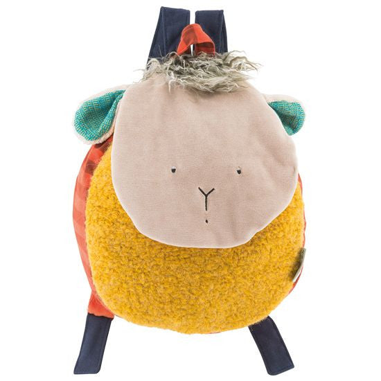 Moulin Roty - Sheep Backpack - vivalatoys.com