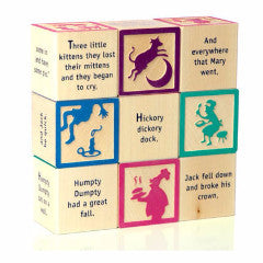Uncle Goose - Nursery Rhyme 9 Block Set C