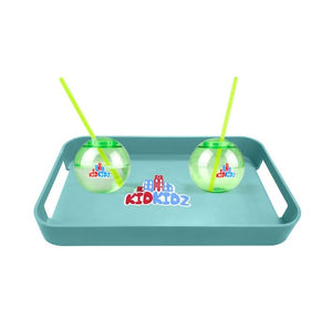 KidKidz Car Tray & Round Sip Cups BUNDLE