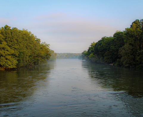 Serenity On The Chattahoochee River - J. Thomas Photography