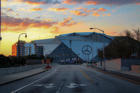 Sunset At The Benz - J. Thomas Photography
