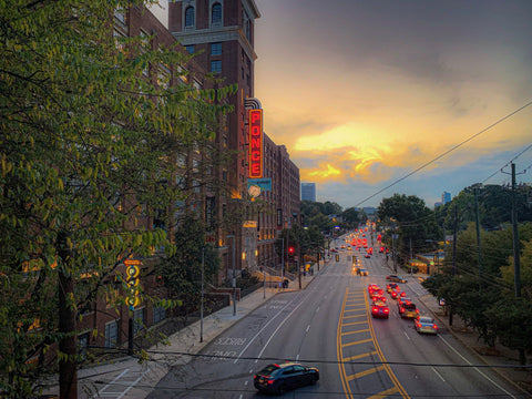 Ponce City Sunset 2 - J. Thomas Photography