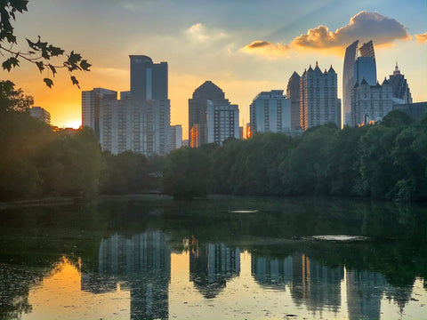 Piedmont Park Sunset - J. Thomas Photography