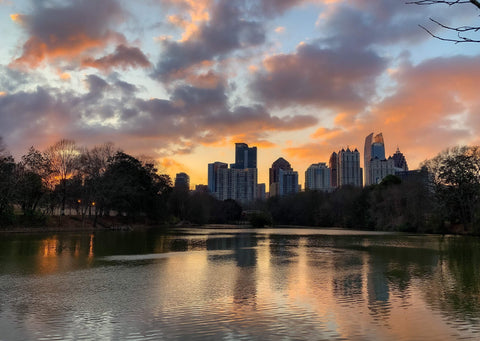Sunset At Piedmont Park - J. Thomas Photography