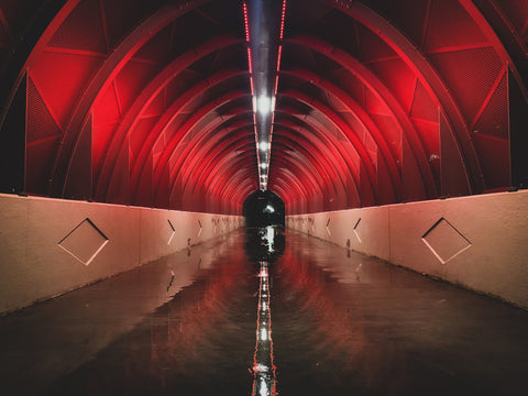 The Red Tunnel - J. Thomas Photography