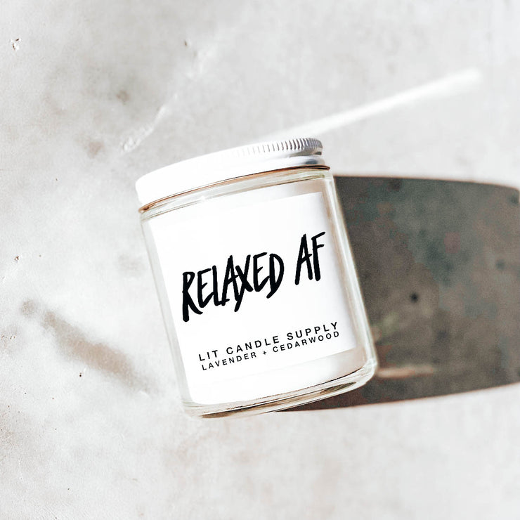 Relaxed AF Candle - After Sunset