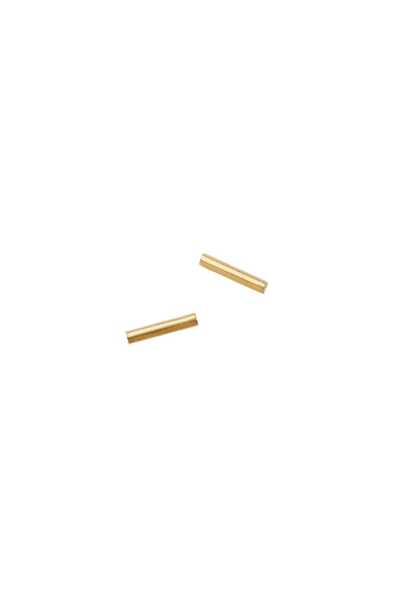AF House Bar Gold Stud Earring