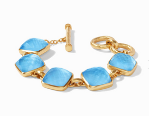 Julie Vos Catalina Bracelet in Iridescent Pacific Blue