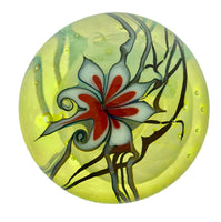 Zephyr Studios  -  Abstract Floral Paperweight