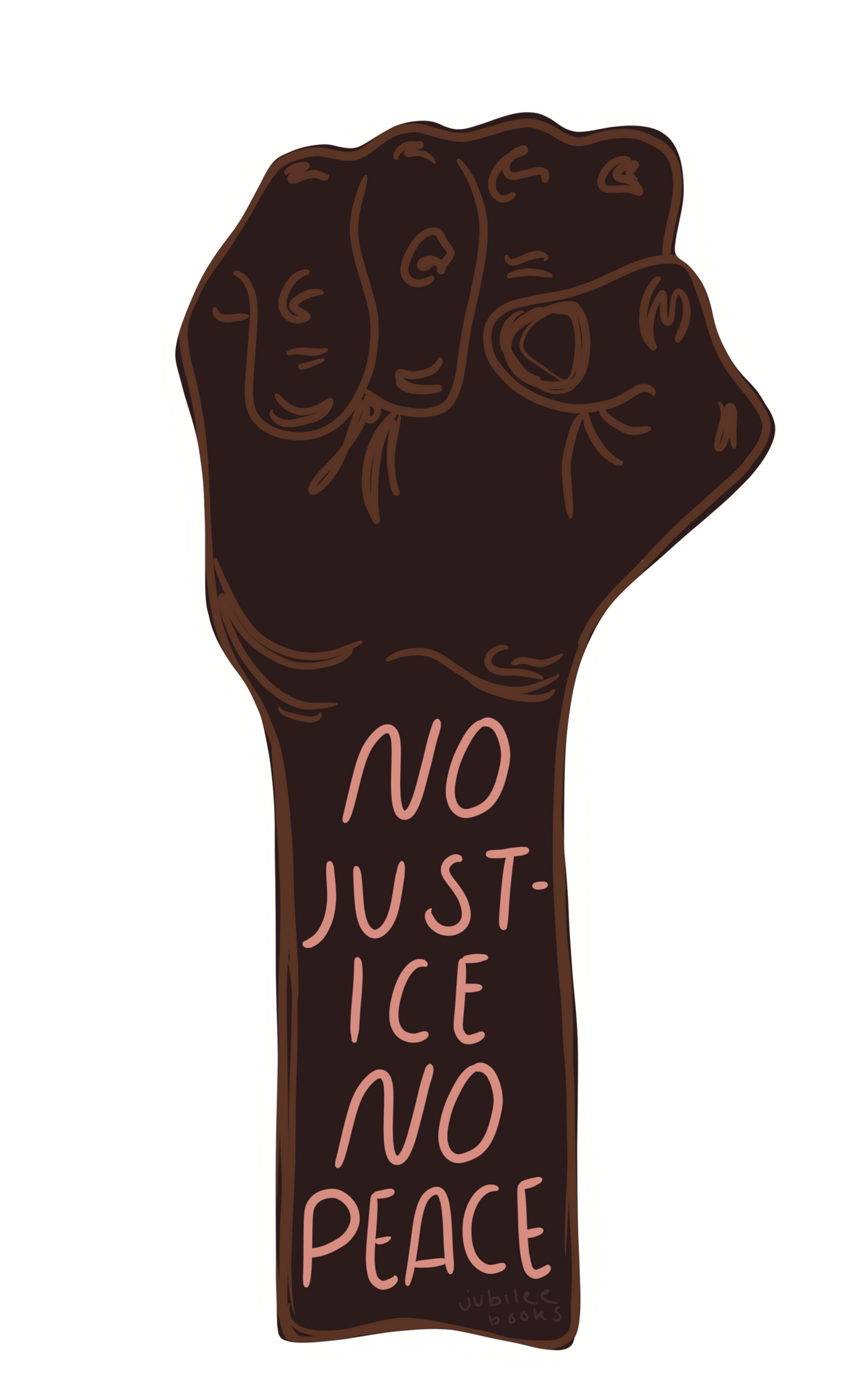 No Justice No Peace Bookmark