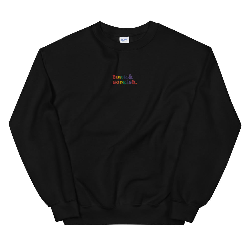 Black and Bookish Unisex Sweatshirt