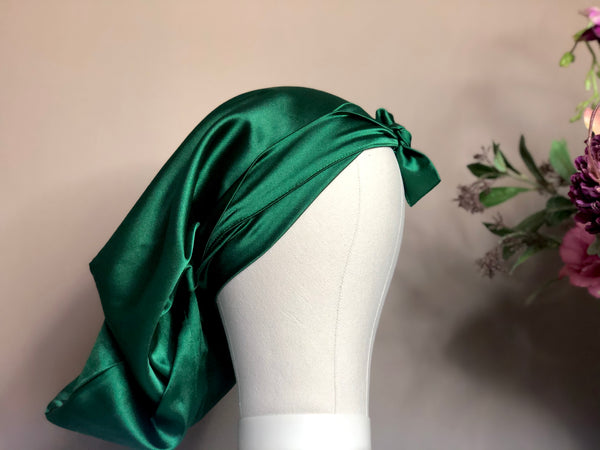 Shelela Emerald Bonnet/ Doek