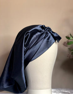 Shelela Navy Doek Wrap