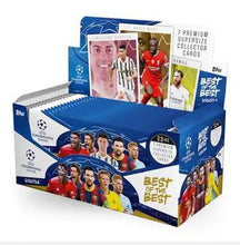 Load image into Gallery viewer, 2021 Topps UCL Best of the Best Soccer Pack  (Max 6)