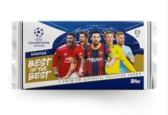 2021 Topps UCL Best of the Best Soccer Pack  (Max 6)
