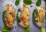 Feta and Spinach Stuffed Chicken