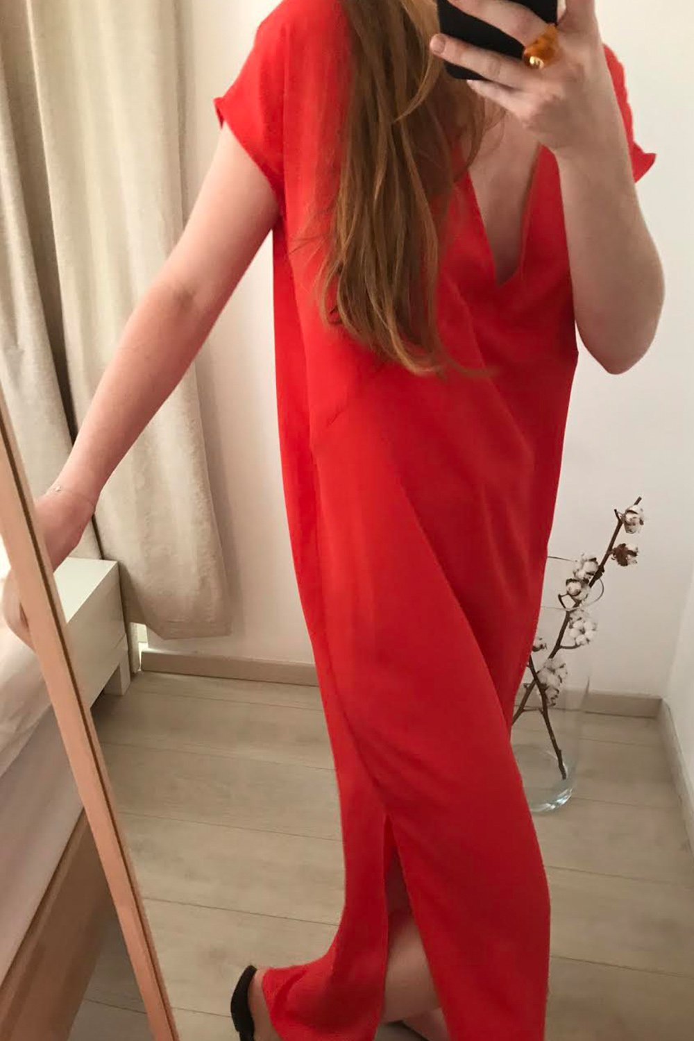 Cocktail Silk Dress