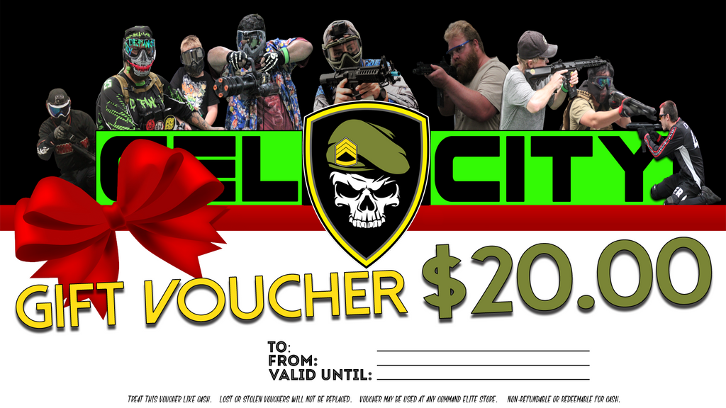 Gel City Gift Card - Online Only