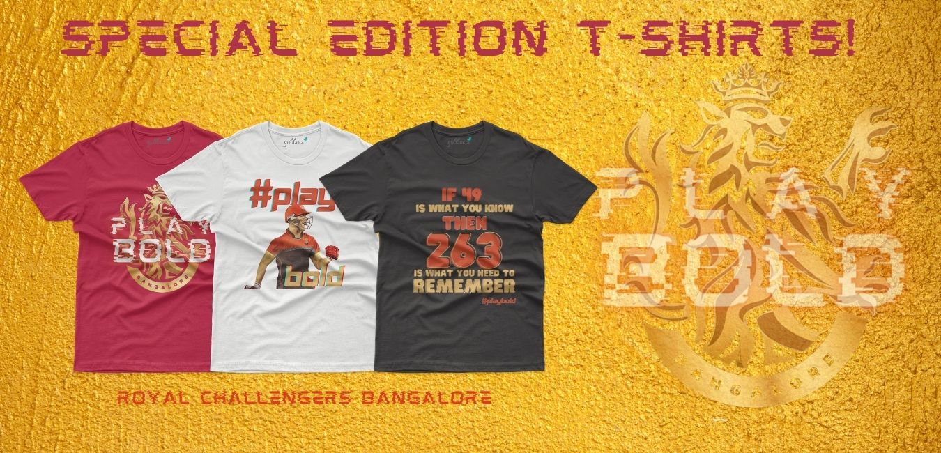 RCB Inspired T-shirts