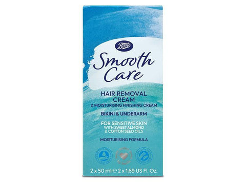 Boots Smooth Care Hair Removal Cream Sensitive Skin 2x50 ml