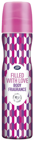 Boots Filled With Love Body Fragrance 75ml